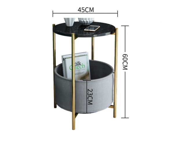 Side Table with Storge ll2