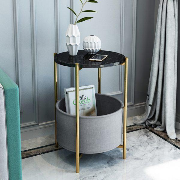 Side Table with Storage II - โต๊ะข้างพร้อมชั้นเก็บของ