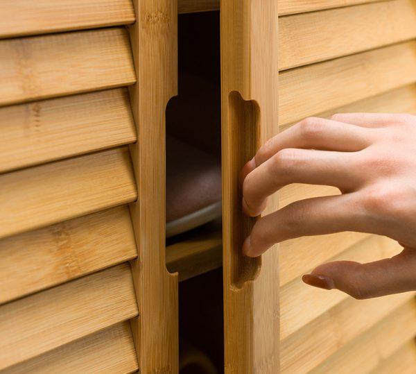 ตู้ใส่ร้องเท้า Bamboo Bench Shoes Storage