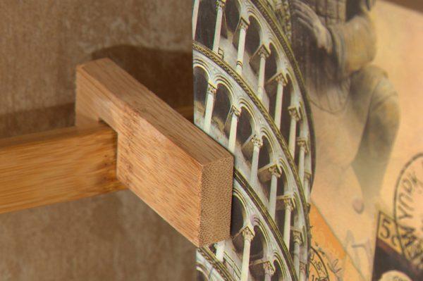 Bamboo Book Shelf ชั้นวางหนังสือไม้ไผ่