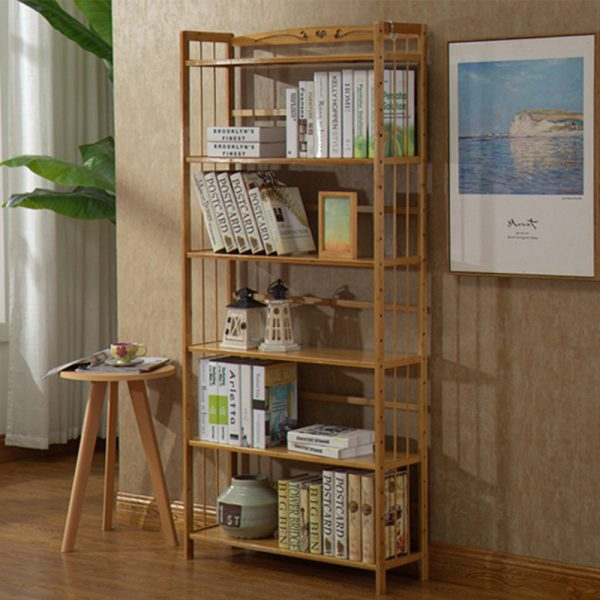 Bamboo Clothes Shelf II