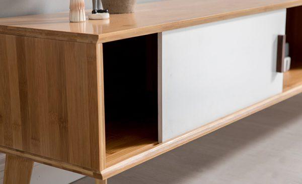 Bamboo Minimal TV Table