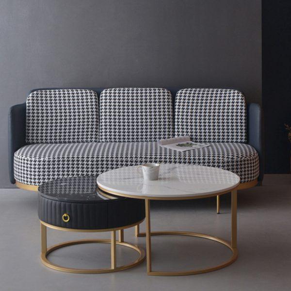 Coffee Table Set with Drawer - ชุดโต๊ะกลางพร้อมลิ้นชักเก็บของ