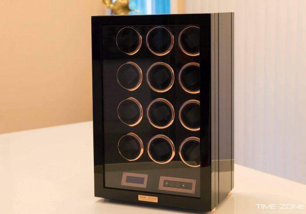 ตู้เก็บรักษานาฬิกา Automatic 24 เรือน พร้อมจอแสดงผล Digital Time Zome